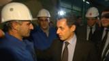 En Ardennes, Sarkozy de retour sur le terrain des promesses