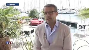 Cannes : Lambert Wilson, un maître de cérémonie qui touche du bois