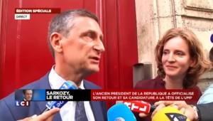 """Frédéric Péchenard : """"Nicolas Sarkozy m'a demandé d'être son directeur de campagne"""""""