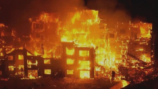 Incendie massif US Arizona