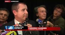 """Législative dans le Doubs : Frédéric Barbier """"sera le candidat de la gauche"""" au deuxième tour"""