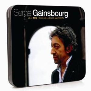 Le CD des plus belles chansons de Serge Gainsbourg