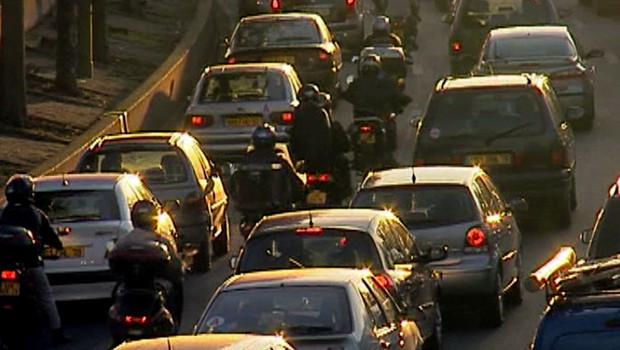bouchons matin périphérique autoroute grève transport