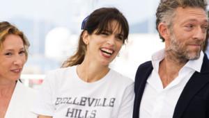 Maïwenn, Emmanuelle Bercot et Vincent Cassel, Cannes Mai 2015