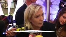"""Marine Le Pen sur Angela Merkel : """"Elle donne le signal très clair que c'est elle qui décide dans l'UE"""""""