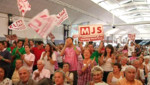 Militants socialistes à La Rochelle (30 août 2009)