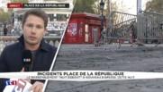 """""""Nuit Debout"""" : retour au calme, la station de métro fermée et les services de nettoyage déployés"""