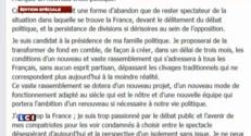Sarkozy : une cinquantaine de lignes sur Facebook pour annoncer son retour