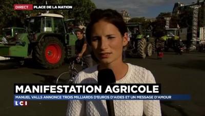Agriculteurs à Paris : remontés par les annonces de Valls, ils veulent bloquer le périphérique plus longtemps