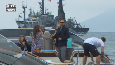 Justin Timberlake à Cannes pour le film Trolls.