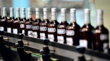 La célèbre bouteille de boisson anisée Ricard