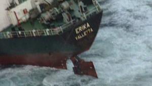 La naufrage de l'Erika en 1999