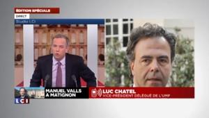 """Luc Chatel : """"J'ai vu un président aux abois"""""""
