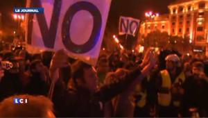 Espagne : la manif contre l'austérité dégénère