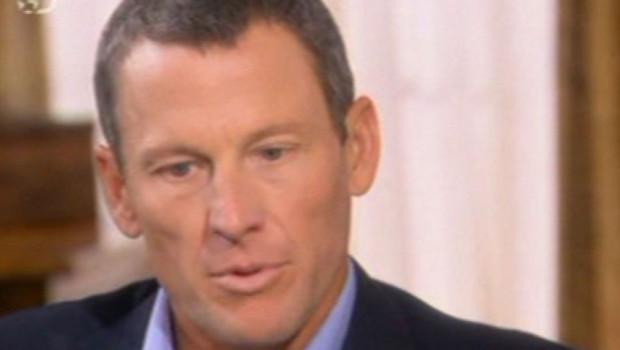 Lance Armstrong lors de ses aveux à la télévision américaine, le 17 janvier 2013