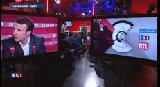 """Macron : """"J'espère que nous verrons les fruits du travail ingrat"""" que nous faisons"""