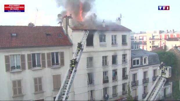 Saint-Denis : au moins cinq morts dans l'incendie d'un immeuble