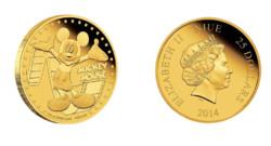 Une pièce de monnaie Disney à l'île de Niue, dans le Pacifique.