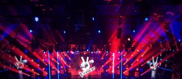 La scène de The Voice s'apprêtent à accueillir les grands shows en direct !