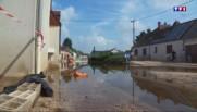 Inondations : immenses dégâts à Gidy dans le Loiret