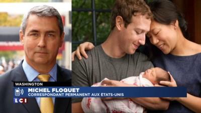 Papa, Mark Zuckerberg légue 99 % de ses actions à sa fondation pour l'enfance