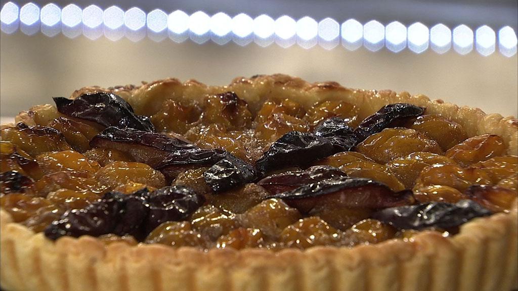 Tarte feuillet e aux mirabelles petits plats en - Recette cuisine tf1 petit plat en equilibre ...