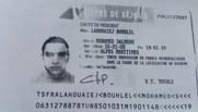 Carte de séjour de Mohamed Bouhaiej-Bouhlel
