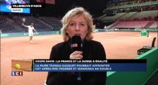 Coupe Davis : Tsonga et Gasquet pour assurer le double face à la Suisse ?