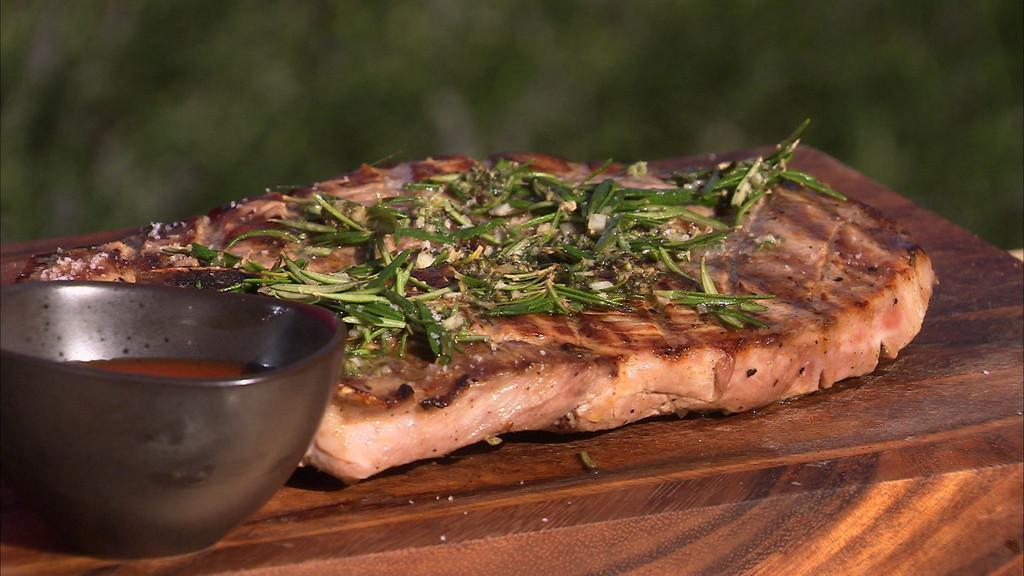 Rouelle de porc grill sauce barbecue petits plats en - Recette cuisine tf1 petit plat en equilibre ...