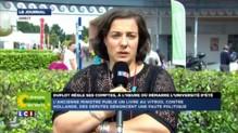 """Emmanuelle Cosse: """"Je n'ai pas peur du débat interne à mon parti"""""""