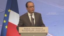 Hollande s'exprime sur les incidents à Air France (06/10)