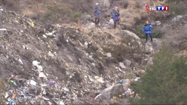 Le 20 heures du 28 mars 2015 : Crash de l'A320 : la difficile identification des corps - 371.153