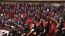 Minute de silence à l'Assemblée