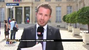 Séminaire gouvernemental : la croissance n'est pas au niveau espéré selon Valls