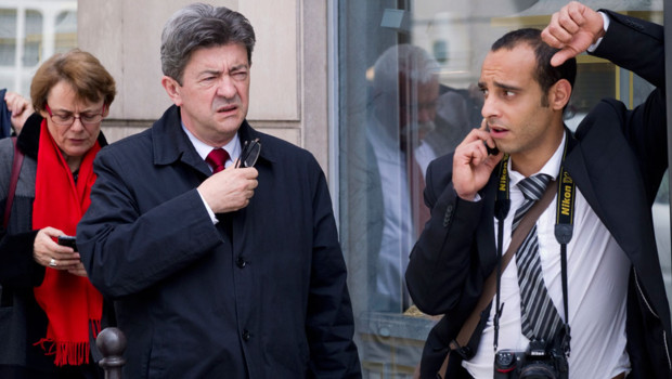Jean-Luc Mélenchon, le 5 juin 2012.