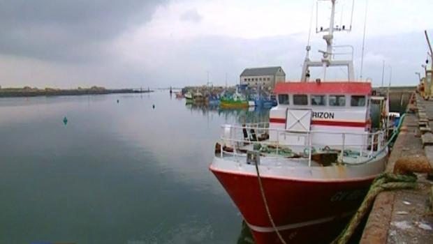 """Le chalutier """"Horizon"""", dont le patron a disparu en mer (18 mai 2008)"""