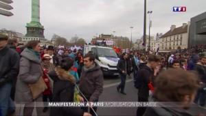 Paris : un mois après le début des manifestations, les jeunes répondent toujours présents