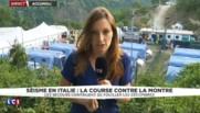 Séisme en Italie : les sinistrés d'Accumoli hébergés dans des camps