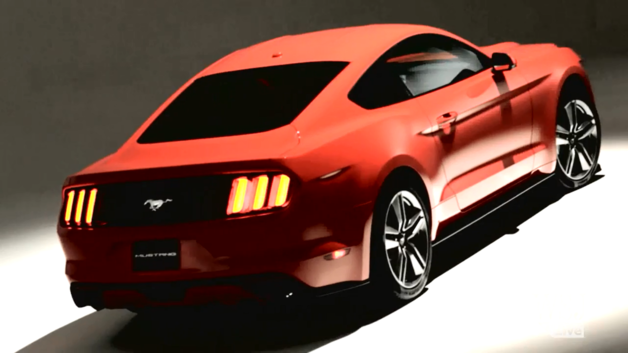 news automoto nouvelle ford mustang 2014 nombreuses images officielles en fuite mytf1. Black Bedroom Furniture Sets. Home Design Ideas
