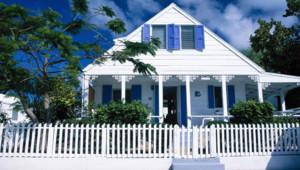 House on Harbour Island, Bahamas