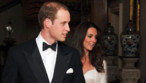 Kate et William quittent Clarence House, résidence du prince Charles et de Camila, pour regagner Buckingham pour la fête de leur mariage, le 29 avril 2011