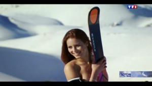Le 13 heures du 12 février 2014 : Sotchi 2014 : Jacky, la skieuse libanaise qui fait fondre la glace - 1696.0154793090821