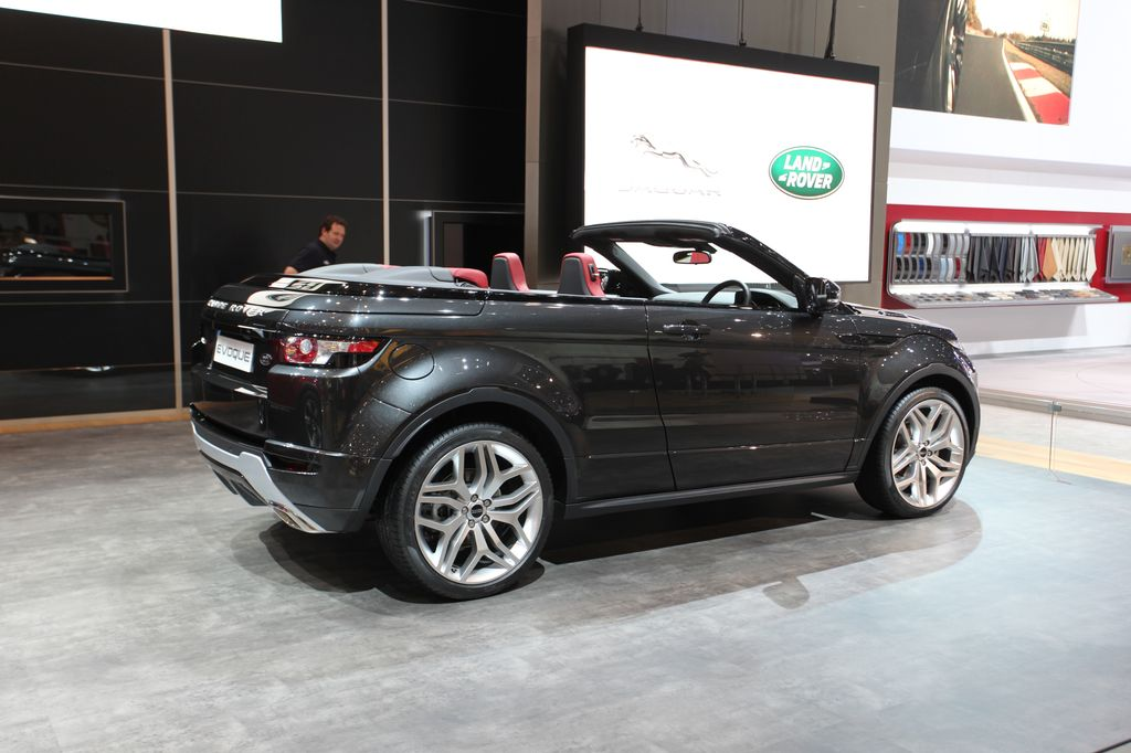 photos automoto range rover evoque cabriolet concept au salon de gen ve 2012 mytf1. Black Bedroom Furniture Sets. Home Design Ideas