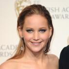 Jennifer Lawrence à la soirée des BAFTA
