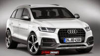 La deuxième génération du Q7 signé Audi imaginée par X-Tomi Design. Le SUV sera officiellement présenté lors du Salon de Détroit en janvier 2015.