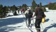 Pyrénée-Orientales : dépaysement garantie grâce à la randonnée en raquettes