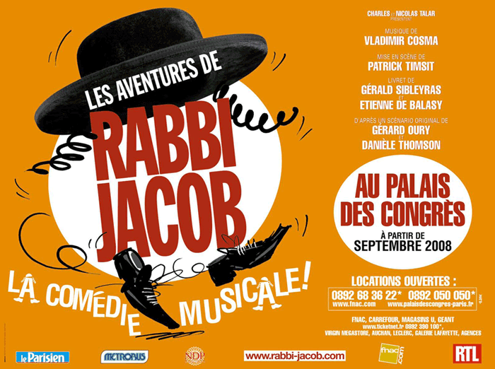 affiche Rabbi Jacob