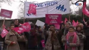 Les manifestants anti mariage gay avaient défilé début janvier à Paris.