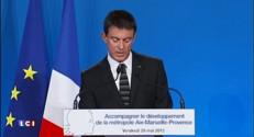 Marseille : Valls débloque 600 millions d'euros pour soutenir la nouvelle métropole