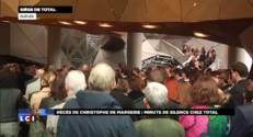 Mort du PDG de Total: les salariés ont observé une minute de silence